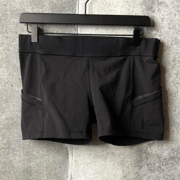lululemon athletica Pants - Lululemon what the sport reflective cycle shorts